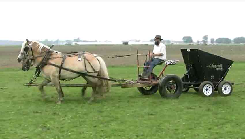 Horse Manure Spreader : Neues